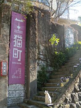 ギャラリー入口階段